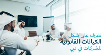 تعرف على شكل الكيانات القانونية للشركات في دبي