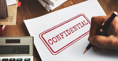 full confidentiality